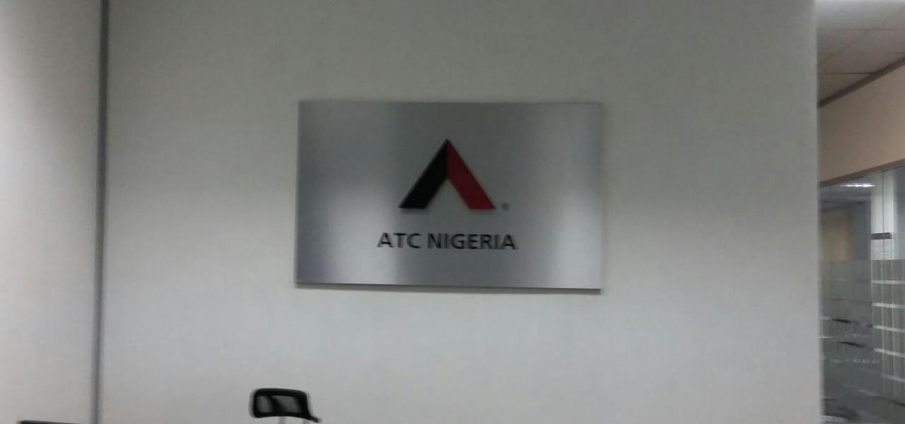 Installation: ATC Reception Signage