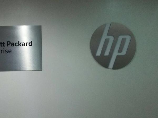 Branding: HP Office, Ikoyi