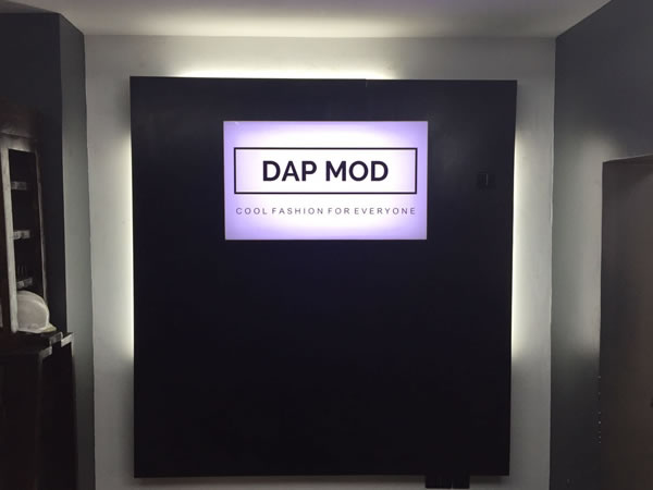 Signage: Dap Mod – Lekki