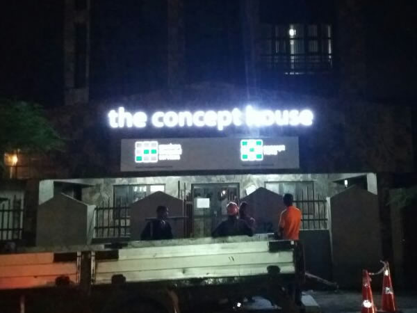 concept–house