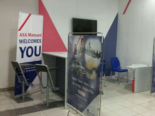 Axa mansard display stands