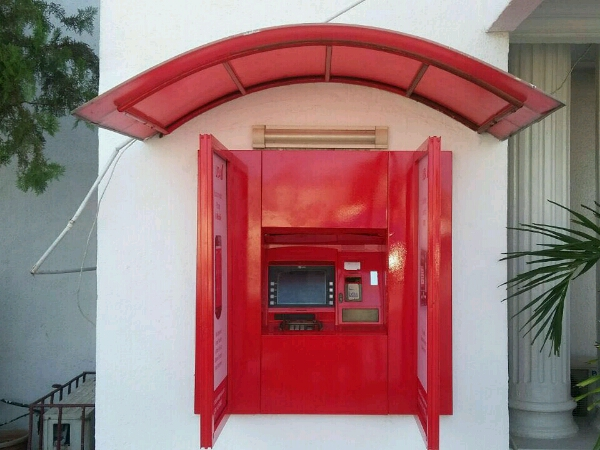 Branding Uba Atm Canopy And Side Guards Goldfire