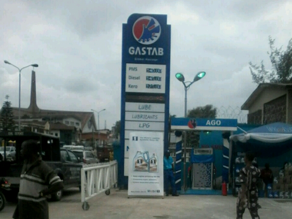 Pylon sign for Gastab Oil- Goldfire Nigeria Limited - Lagos