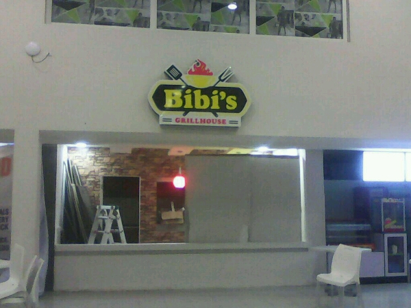 Bibis Grillhouse Signage Produced By Goldfire Nigeria Limited