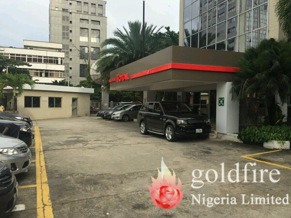 Total head office branding and signage - Goldfire Nigeria Limited - Best signage company in lagos nigeria